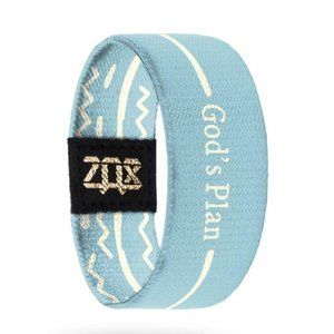 "Zox Bracelet- ""God's Plan"" in Blue"